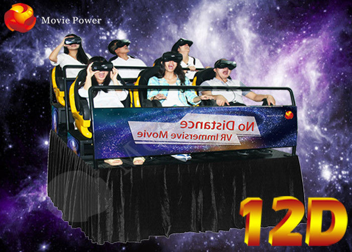 Resourceful Interactive Virtual Reality 12D XD Movie Theatre With 6/8/9/12 Seater