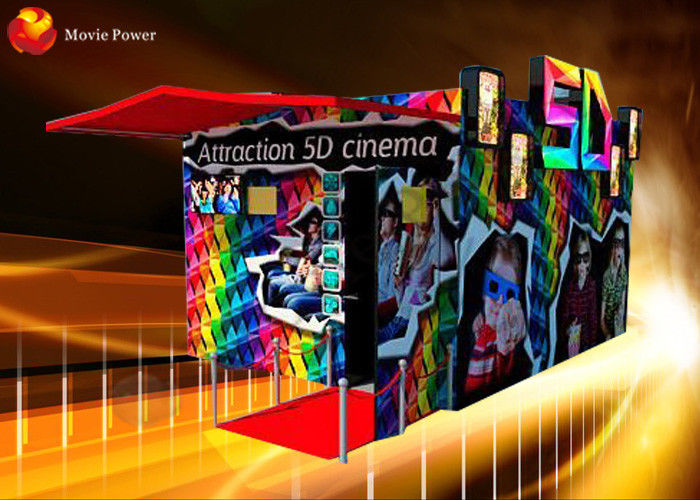 Interactive Games 5D Cinema Theatre With Multi Function Cinema Chair