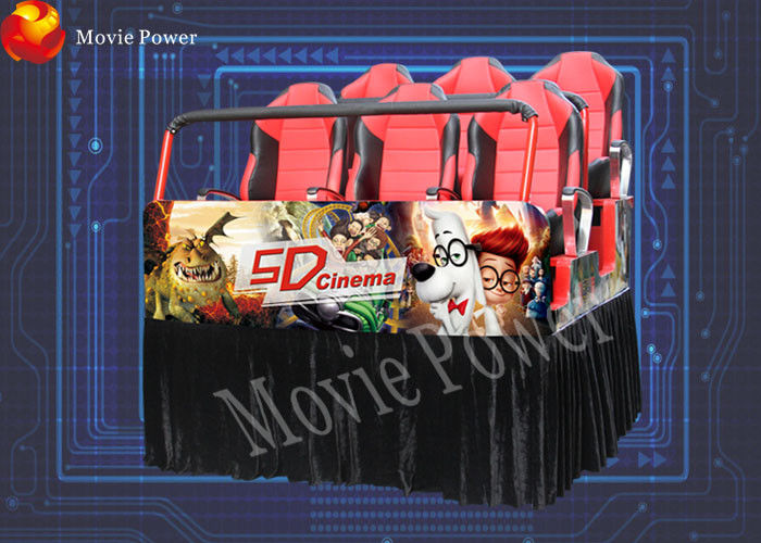 Original curves 7D movie theater equipment 7d interactive theater